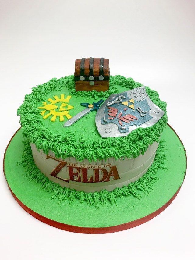 Cool 21 Amazing Image Of Zelda Birthday Cake Zelda Birthday Zelda Funny Birthday Cards Online Elaedamsfinfo