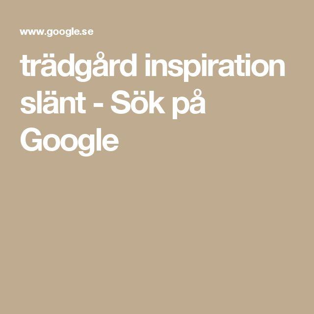 trädgård inspiration slänt - Sök på Google