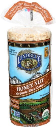 Rice Cakes 179184: Lundberg Rice Cake Honey Nut Org, Partno 273514, By Lundberg, Single Case Of 12 -> BUY IT NOW ONLY: $61.28 on eBay!
