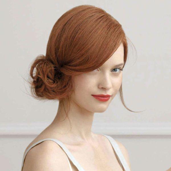 penteado de noiva com coque