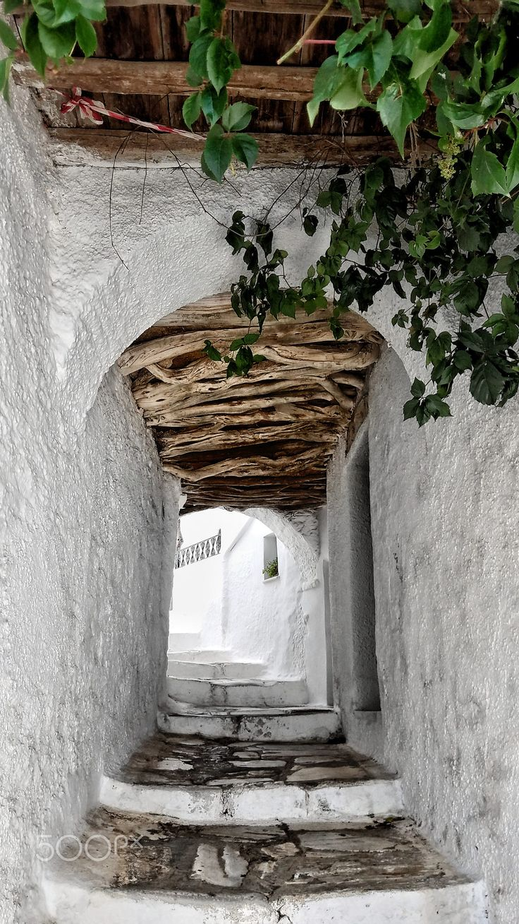 Path in Filoti, Naxos, Greece