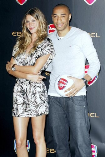 Andrea Rajacic & Thierry Henry | ⚽Soccer-Wives ...