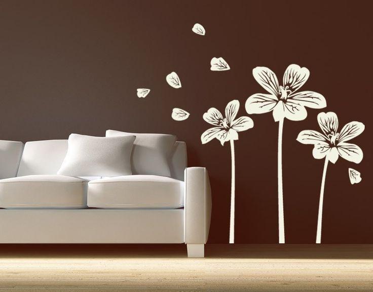 Wandtattoo Blumen