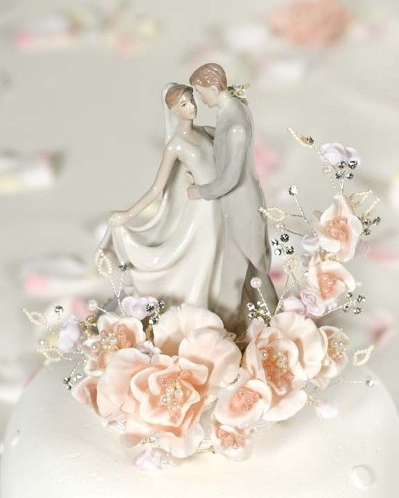 Hey, I found this really awesome Etsy listing at https://www.etsy.com/listing/55269241/vintage-first-kiss-wedding-cake-topper