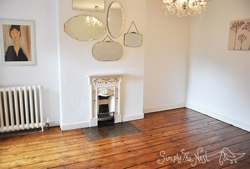 Victorian Bedroom Fireplace Fret : Guest bedroom victorian wood floor finished with osmo