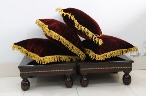 Designer cushions & Wooden Stools from India