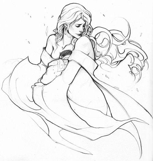 Frigga & Loki by Avali