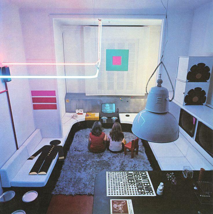 Vintage Interiors Modern Architecture Interior Design Exterior Fisher Karen Oneil Tumblers Neon Space