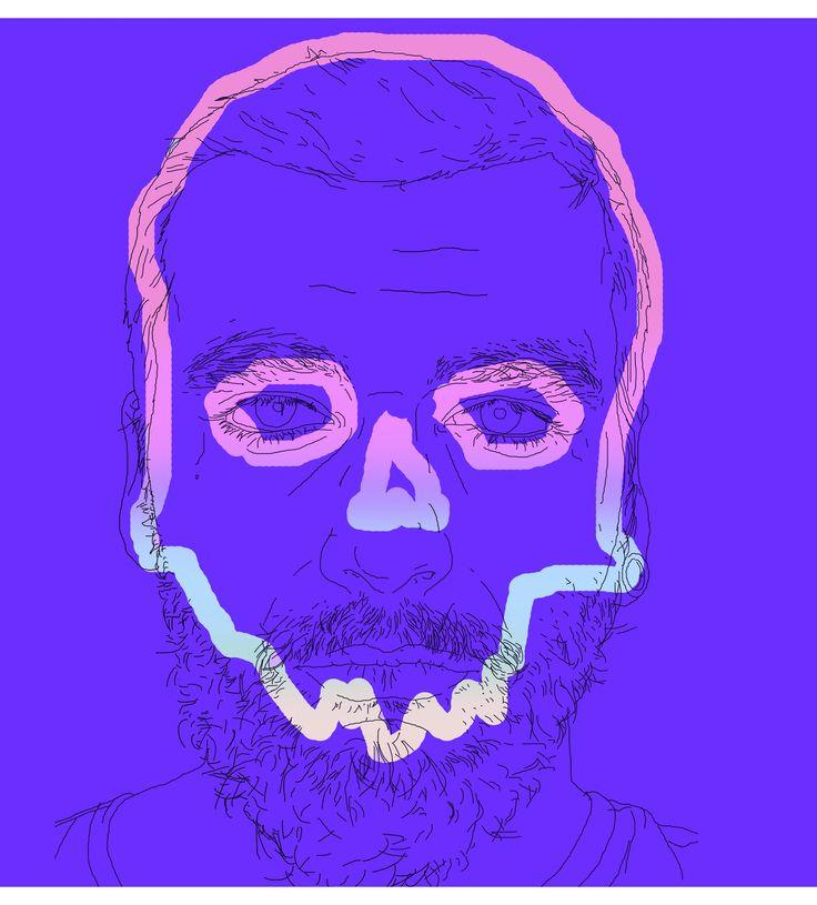 fresh tactics / digital experience / self portrait / dead / Lucian Hrisav 2016