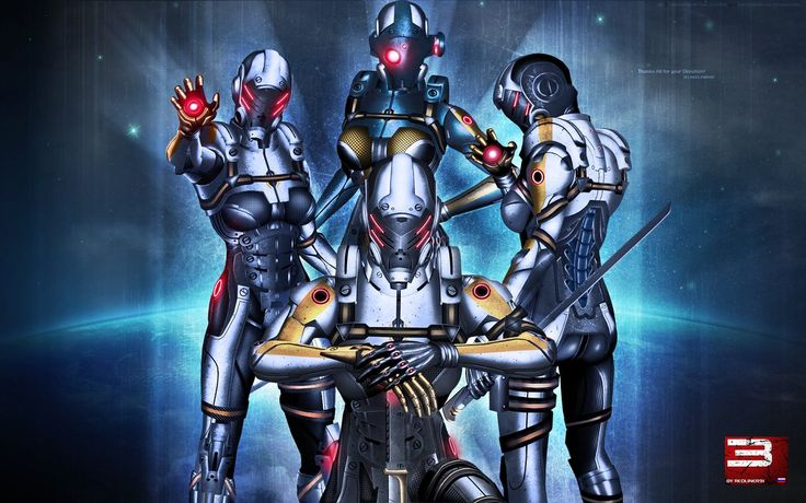 Mass Effect 3 Universal Cerberus (100 Watchers) by ~RedLineR91 on deviantART