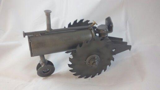 Metal Art Tractor : Scrap metal tractor my art pinterest metals