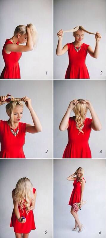 Quick way to get loose curls
