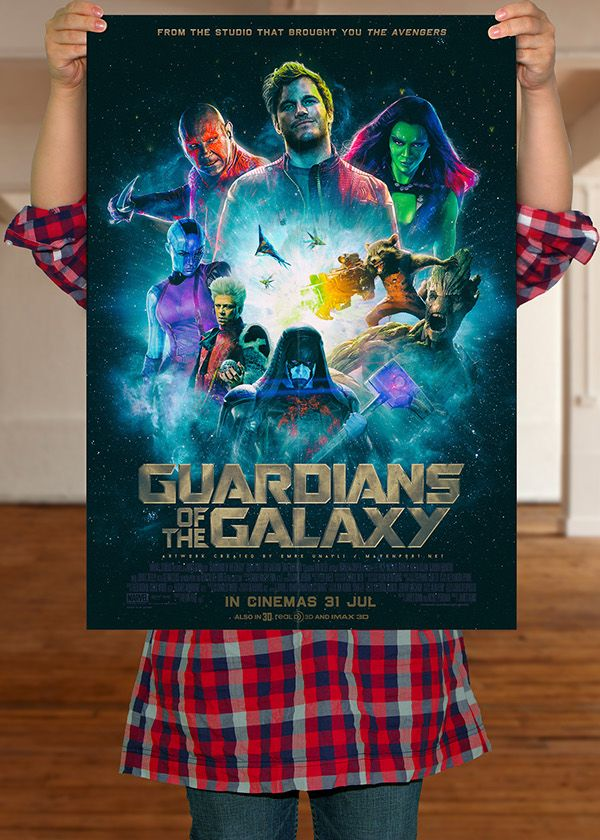 Guardians Of The Galaxy - Posters on Behance