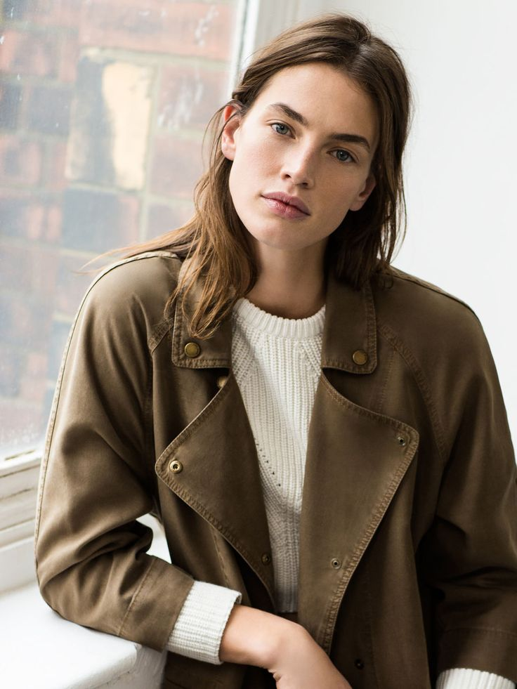 Zara | early spring | army jacket