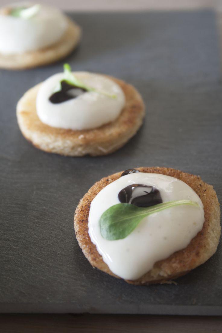 Mousse van Brie, balsamicocrème (met afbeeldingen