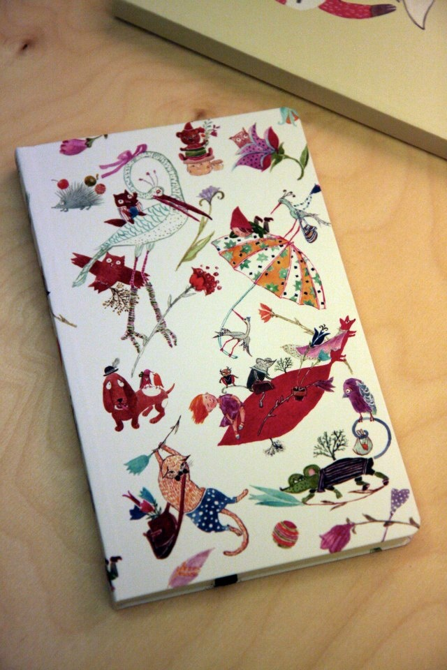 Illustration by Cristiana Radu for ROD Notebooks