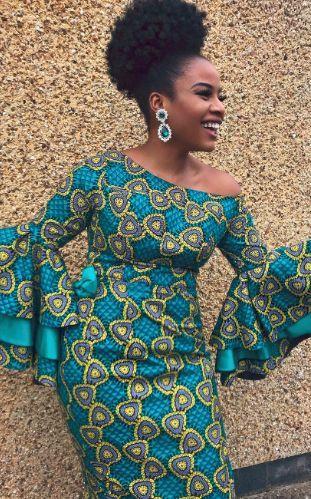 Stylish Ankara Skirt And blouse 2019:Supper Inspiring And Stylish Ankara skirt a... 1