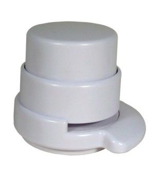 Agrafeuse sans agrafes cylindre - blanc