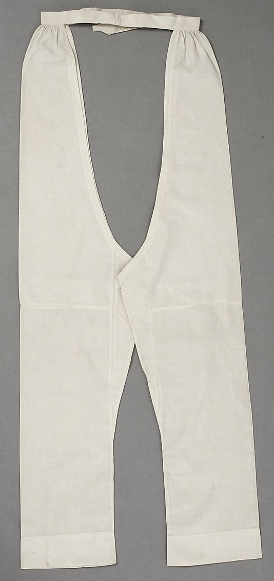 I believe these are much earlier nd are Regency drawers and not Pantalets, ca 1850 America or European cotton as labelled by the museum.