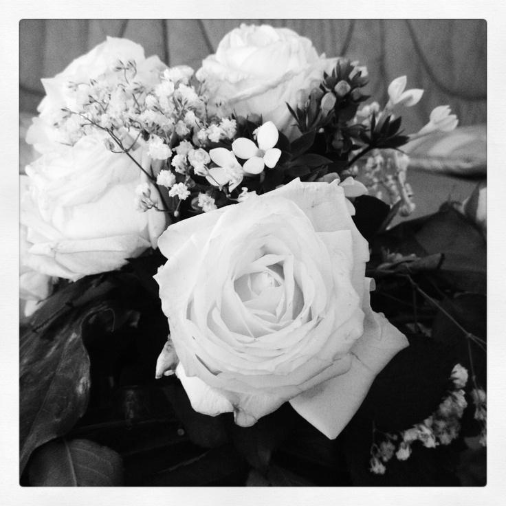 Bouquet nuziale black & white