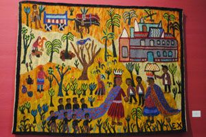 Azaria Mbatha's 'King Solomon and the Queen of Sheba'