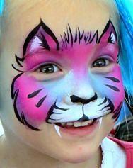 kitty cat face painting   amazingfaceart.com