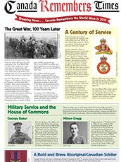 Canada Remembers Times - Veterans Affairs Canada