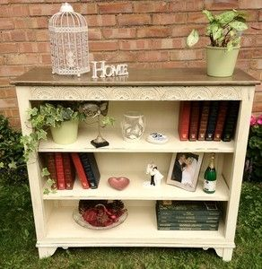 fantastic shabby chic bookcase solid oak