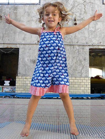 Robe TITLI Liberty /// BibOoShKa Robes Enfant/// robe été à