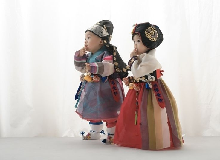Baek-il hanbok - SO CUTE