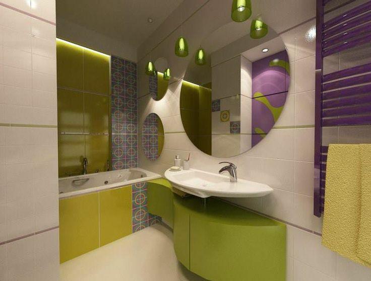 Kolorystyczne wibracje czyli łazienka w odcieniach Prowansji.