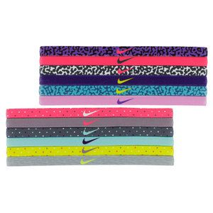 These #Nike Printed Tennis #Headband Assorted 6 Pack is the perfect gift idea! Sold as a 6 pack, each set includes 3 solid and 3 printed pieces to mix and match for your own distinctive look. Get your #TennisExpress headbands today >> http://www.tennisexpress.com/NIKE-Printed-Tennis-Headbands-Assorted-6-Pack-42667
