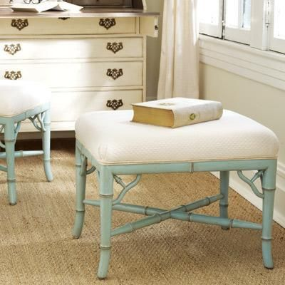 Guest Room small additions...try and find these old and inexpensive and paint blue or green...awesome!