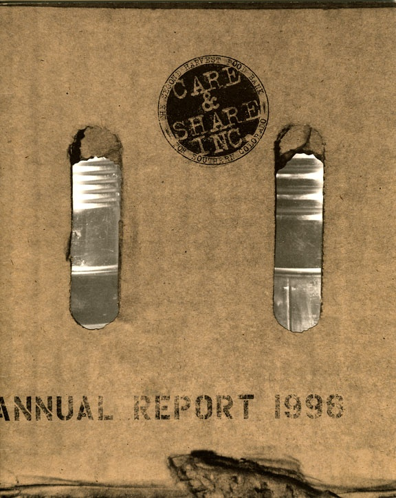 Second Harvest Food Bank, Annual Report 1996
