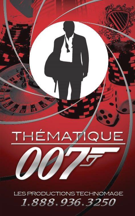 soirée à thème 007