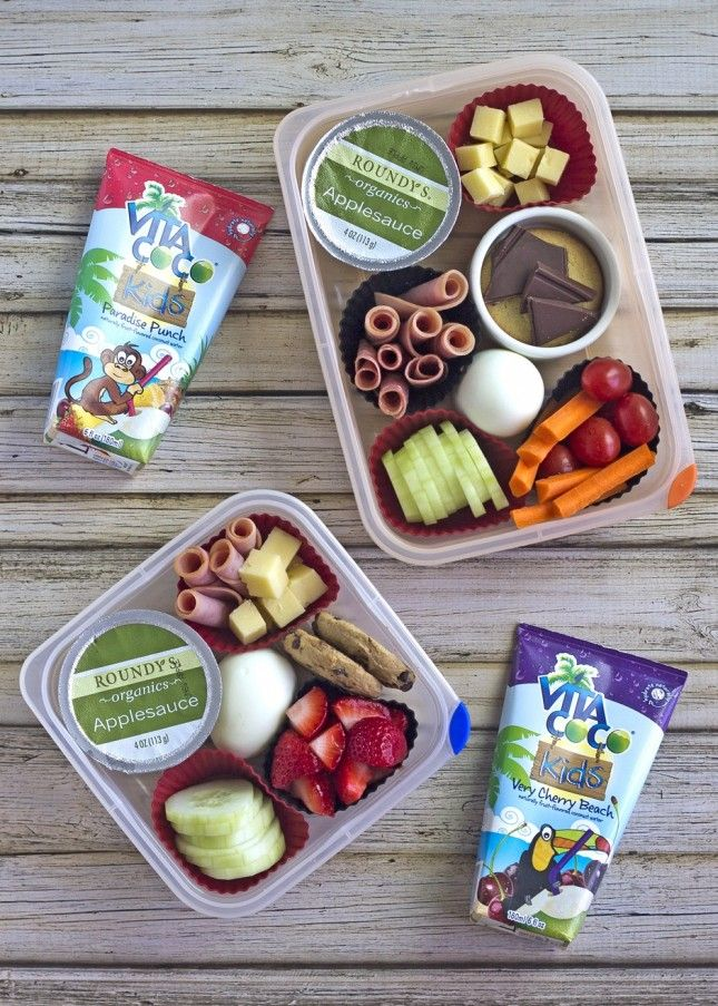 Pack up this healthy lunch for your kiddos.