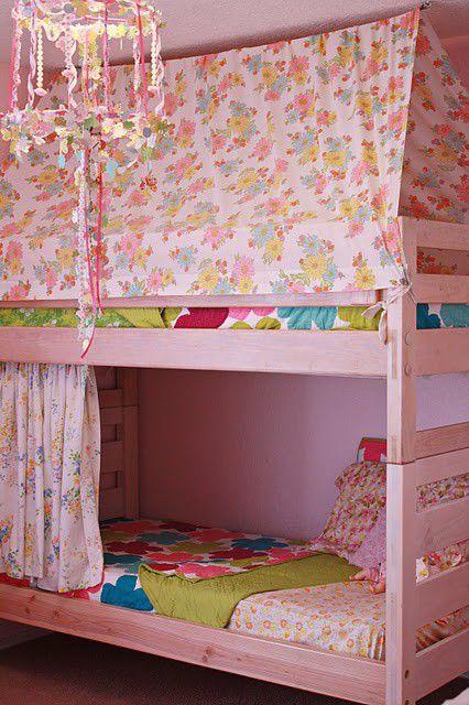 M s de 1000 ideas sobre cortinas de dormitorio de ni as en - Literas para ninas ...