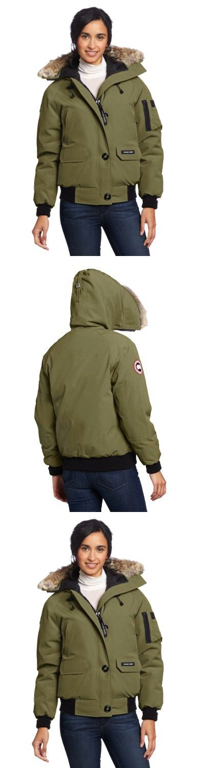 Canada Goose Women's Chilliwack Bomber,  Military Green,  Large