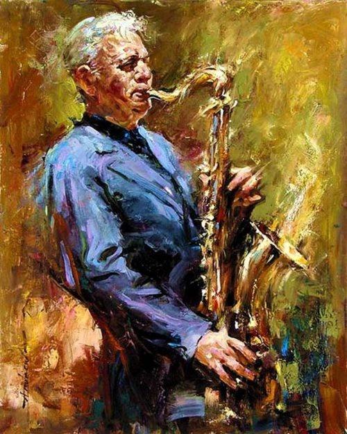 Jazz Art Paintings