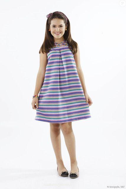 ARTE COM QUIANE - Paps, Moldes, E.V.A, Feltro e Costuras: 5 inspirações de vestidos de criança que você precisa ter