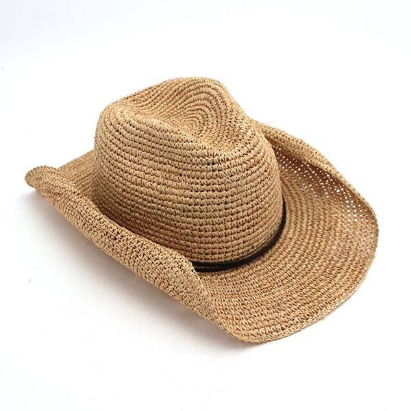 womens raffia cowboy hat my style