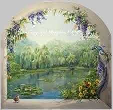 muurschildering tuin - Google zoeken