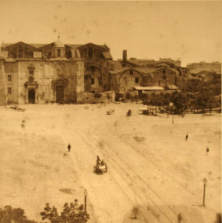 piazza esedra 1870