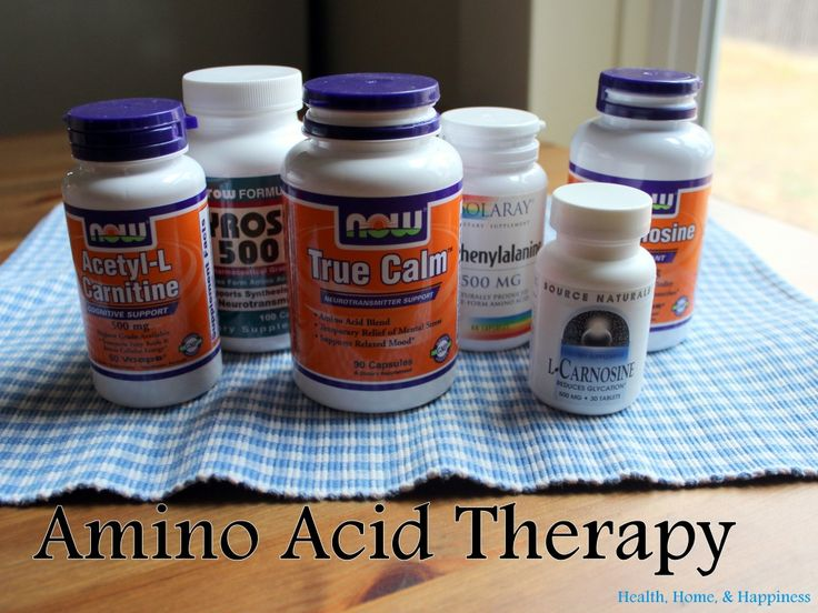 Amino Acids for Autism and General Moods | Health, Home, & Happiness