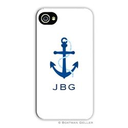 Boatman Geller Personalized Phone Case Icon Anchor  #summerstyle  www.zhush.com