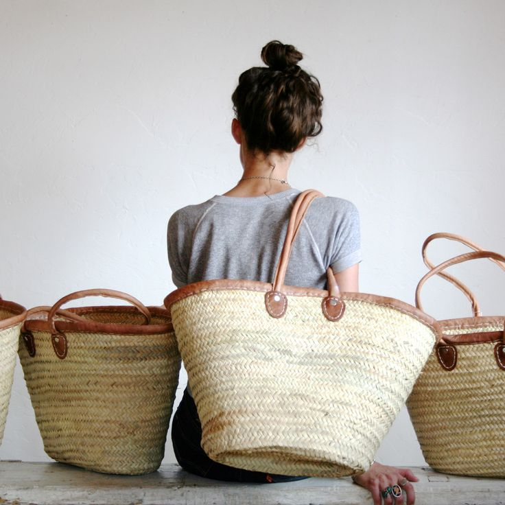 Straw Bag ... an autumn essential, it goes with everything and looks chic yet casual.  The perfect bag.
