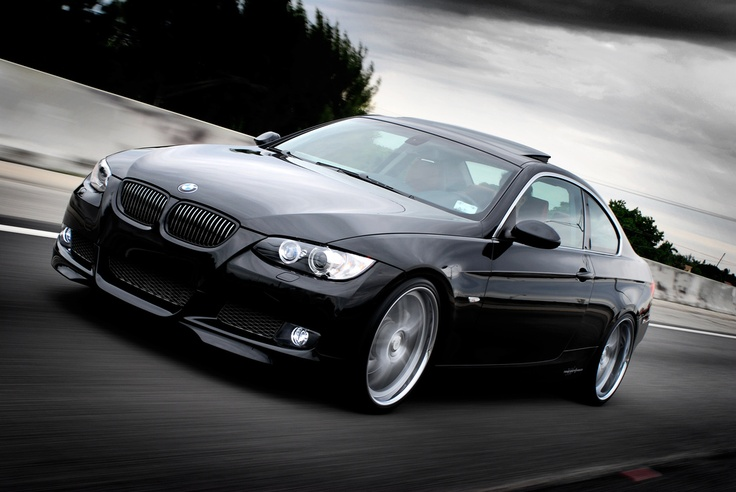 BMW in motion...