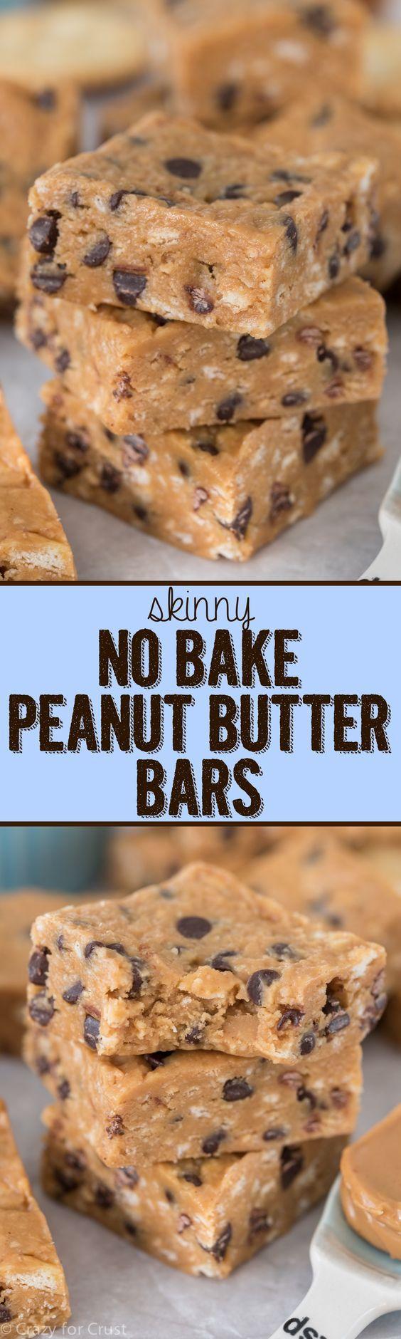 Skinny No-Bake Peanut Butter Pie Recipe — Dishmaps