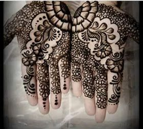 tattoo disasters: Beautiful Indian Mehndi Designs Hands Patterns Images Book For Hand Dresses For Kids Images Flowers Arabic On Paper Balck And White Simple