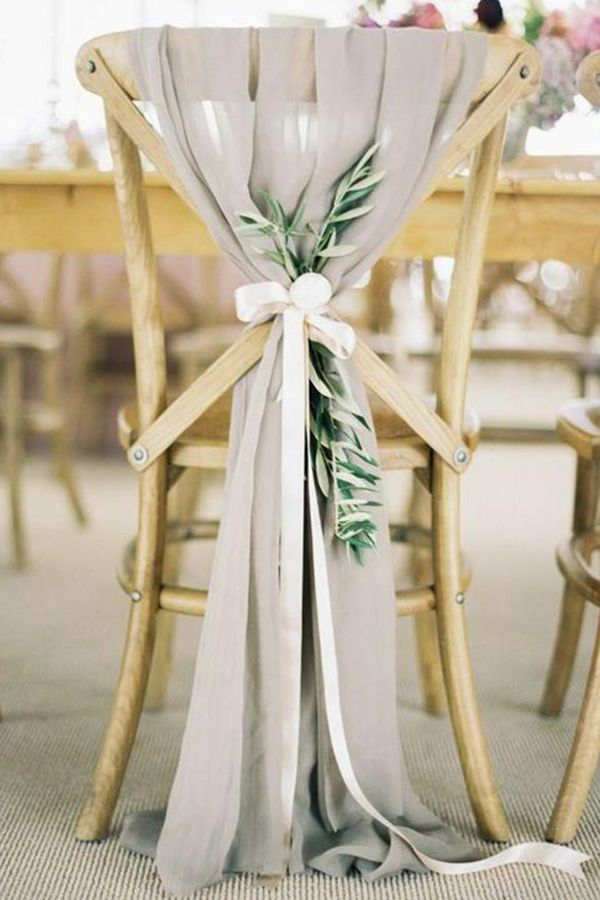 Ideas For How To Decorate Bride And Groom Chairs Wedding Chair Decorations Eucalyptus Wedding Decor Wedding Chairs